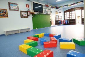 Área de atividades infantis da Reinado Infantil