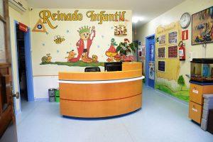Recepção da Escola Reinado Infantil
