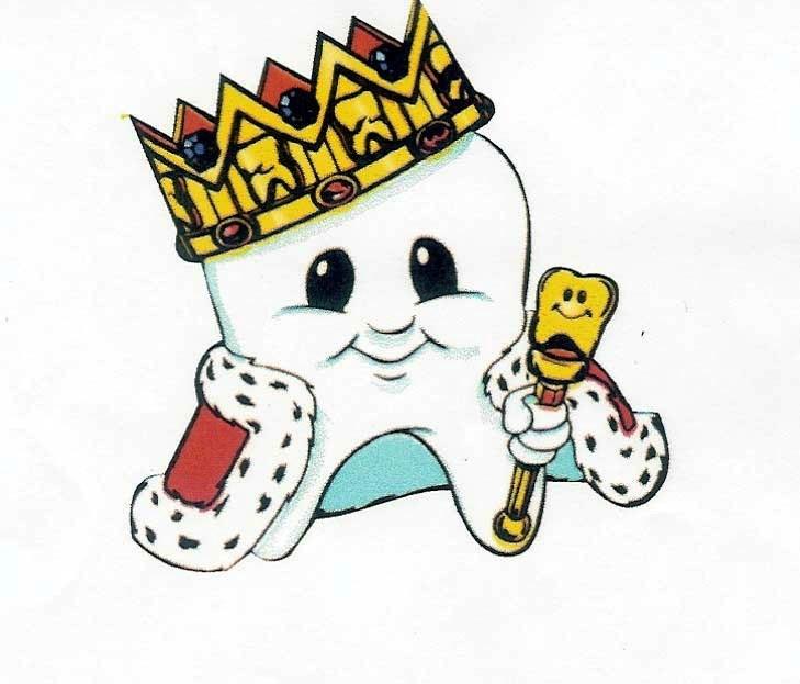 desenho rei dentinho