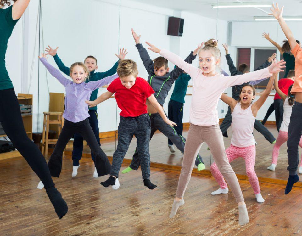 Dança da educação infantil